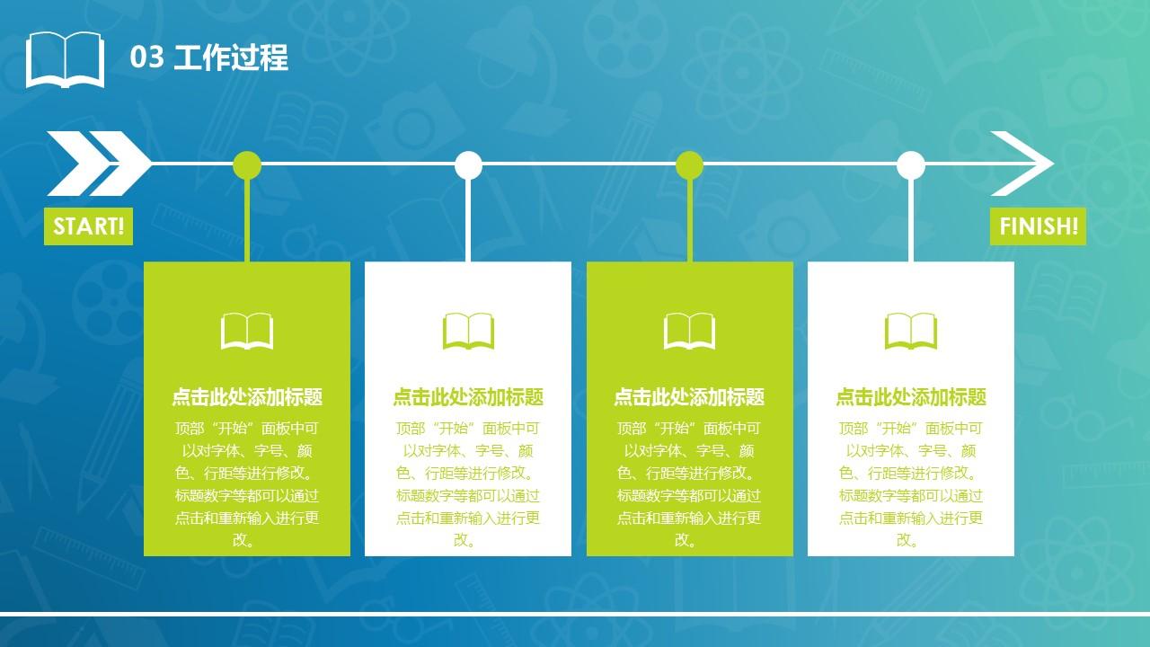 清新风格毕业设计答辩PowerPoint模板_预览图14