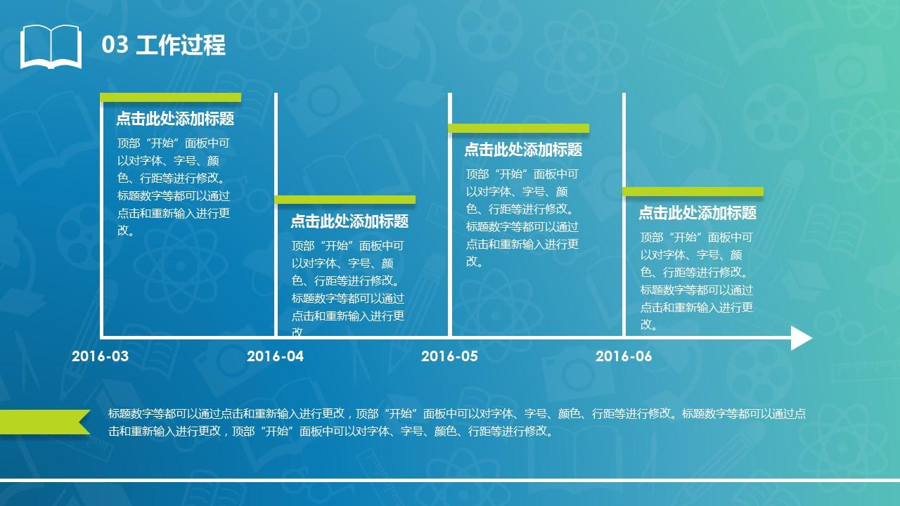 清新风格毕业设计答辩PowerPoint模板_预览图12