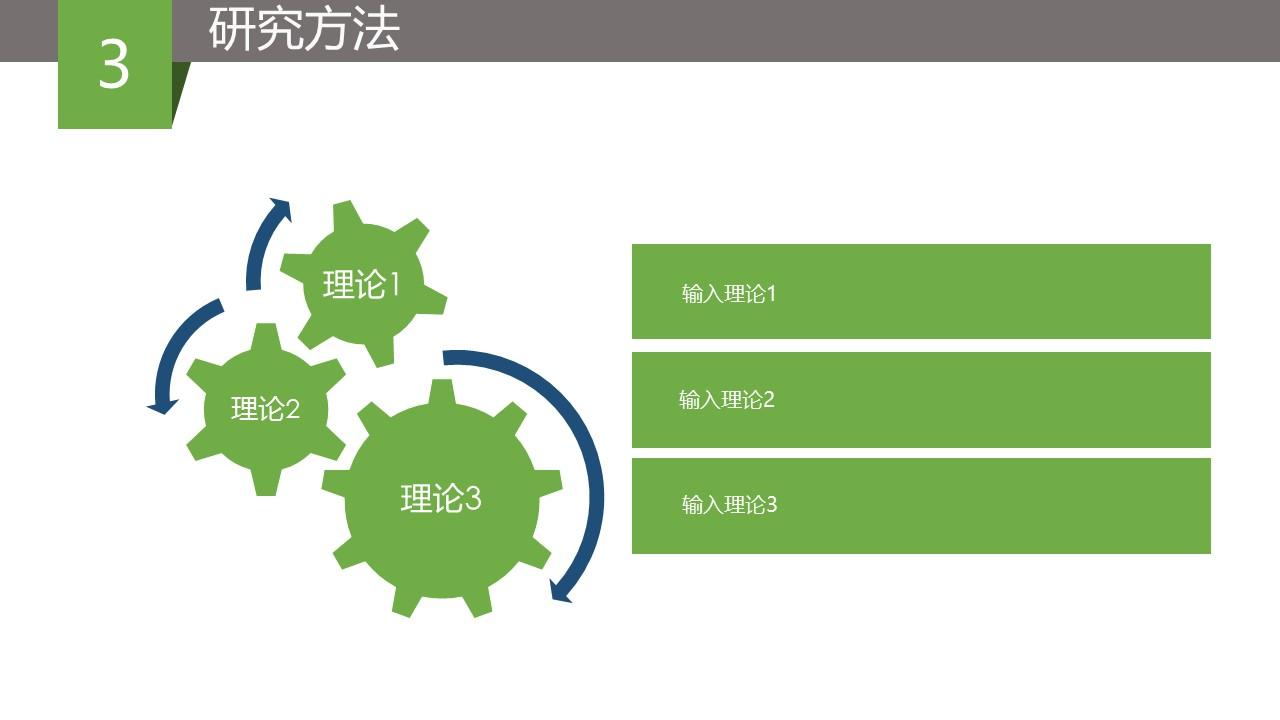 绿色简洁毕业论文答辩PPT模版_预览图9