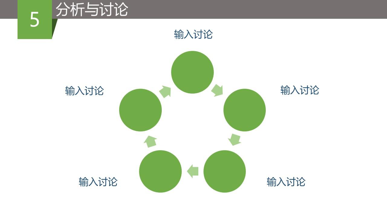 绿色简洁毕业论文答辩PPT模版_预览图13