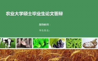 农业项目规划方案PPT模板下载