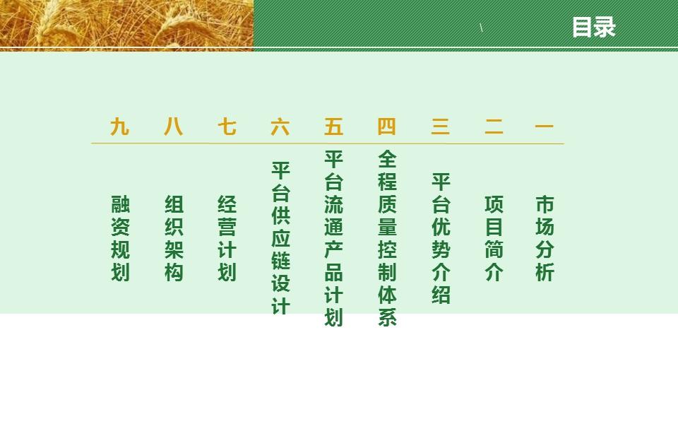 农业项目规划方案PPT模板下载_预览图2