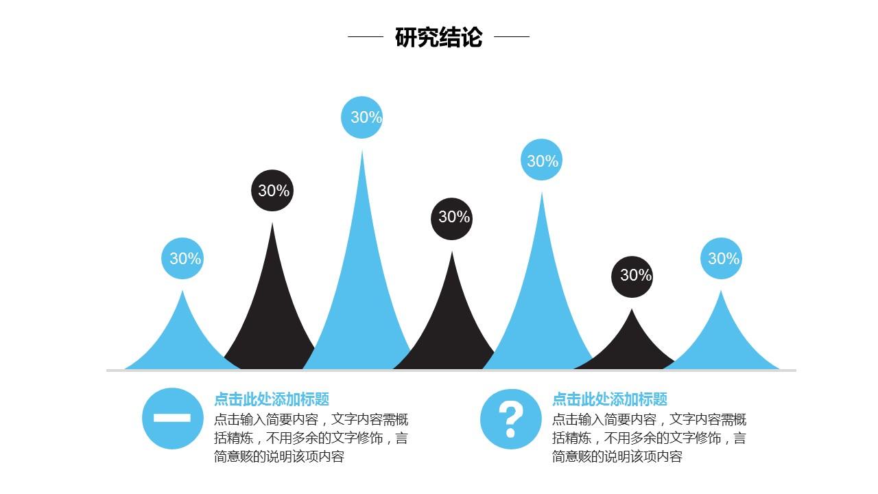 简洁风高等学府毕业论文答辩通用PPT模板_预览图22