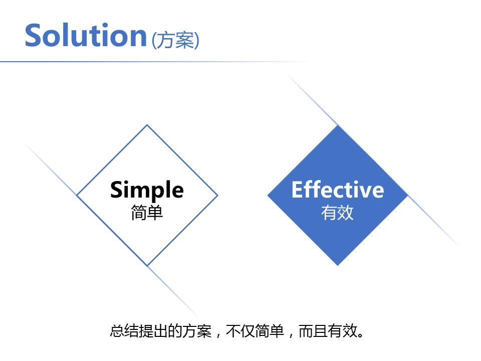 简洁风格开题报告PowerPoint模板下载_预览图10