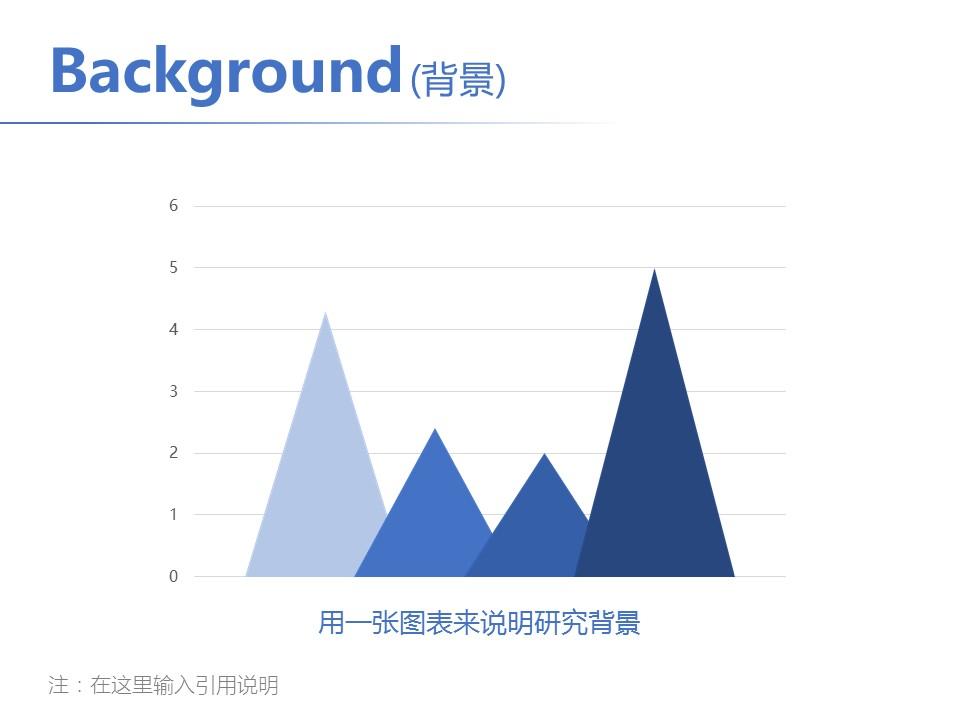 简洁风格开题报告PowerPoint模板下载_预览图5