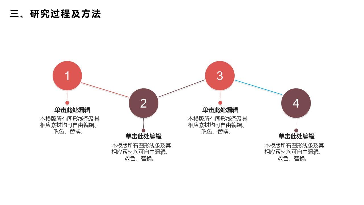 活力红大学答辩PPT模板_预览图18