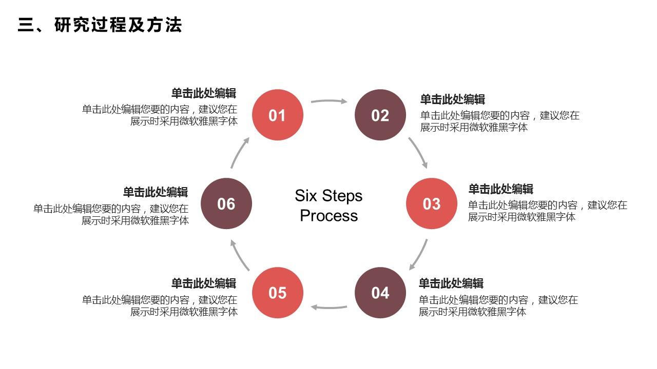 活力红大学答辩PPT模板_预览图20