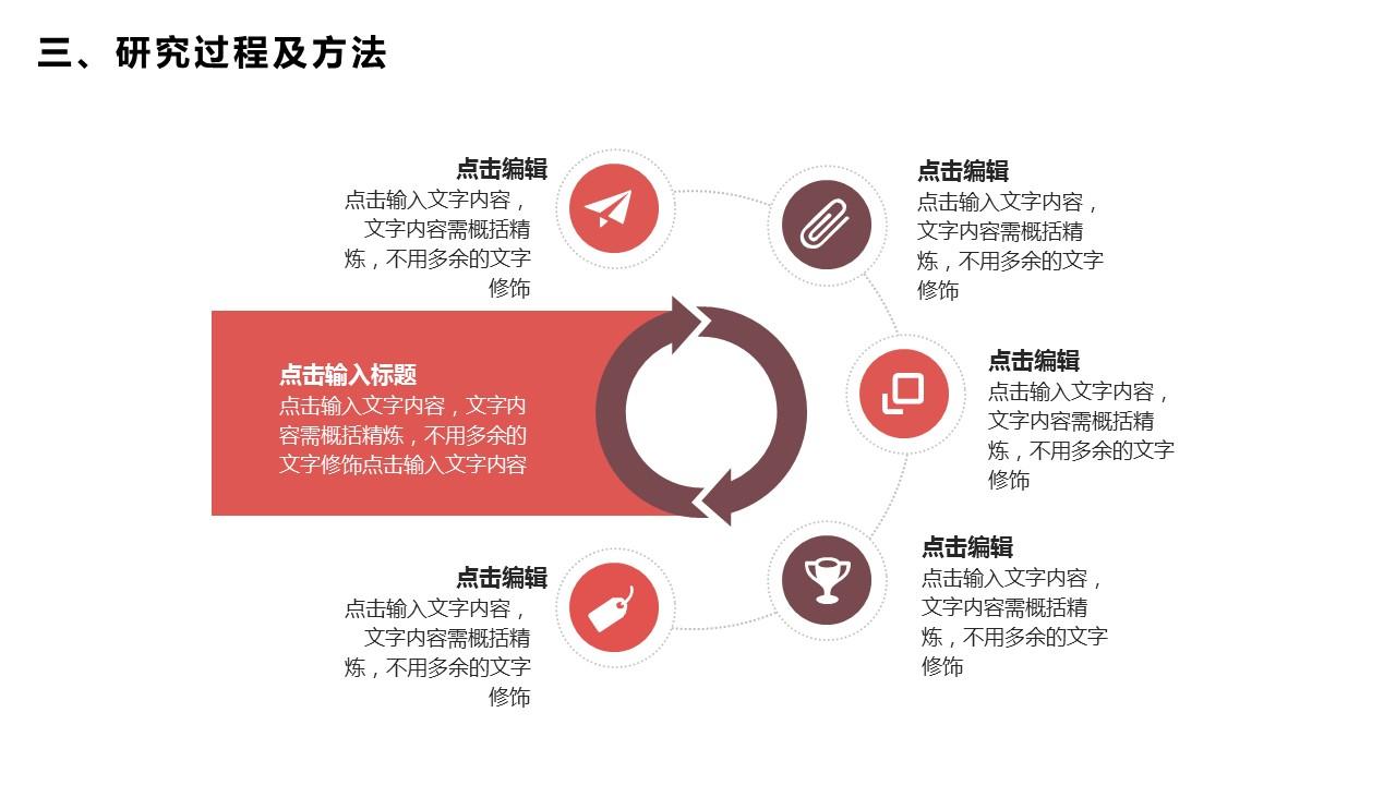活力红大学答辩PPT模板_预览图16