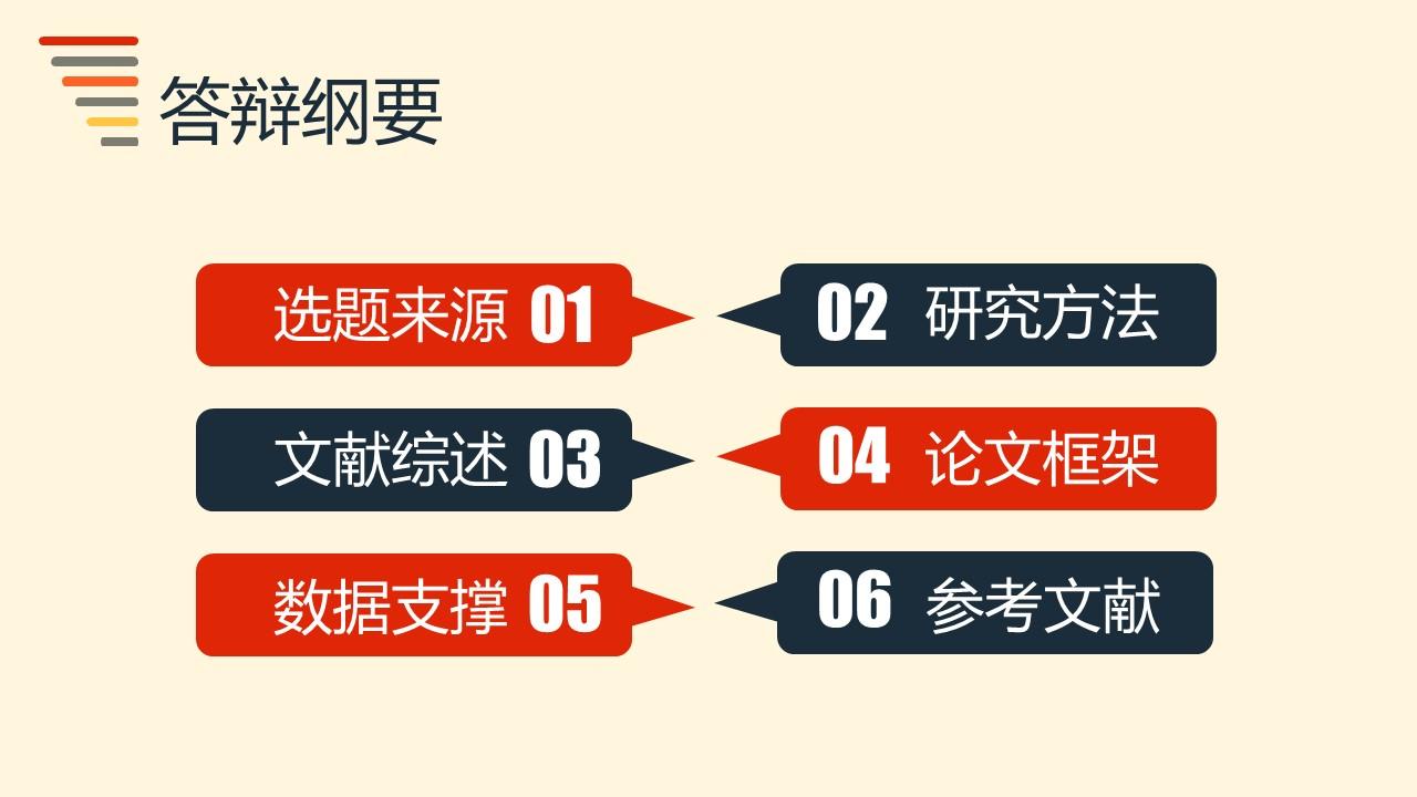 粉色系简洁风格开题报告PPT模板下载_预览图2