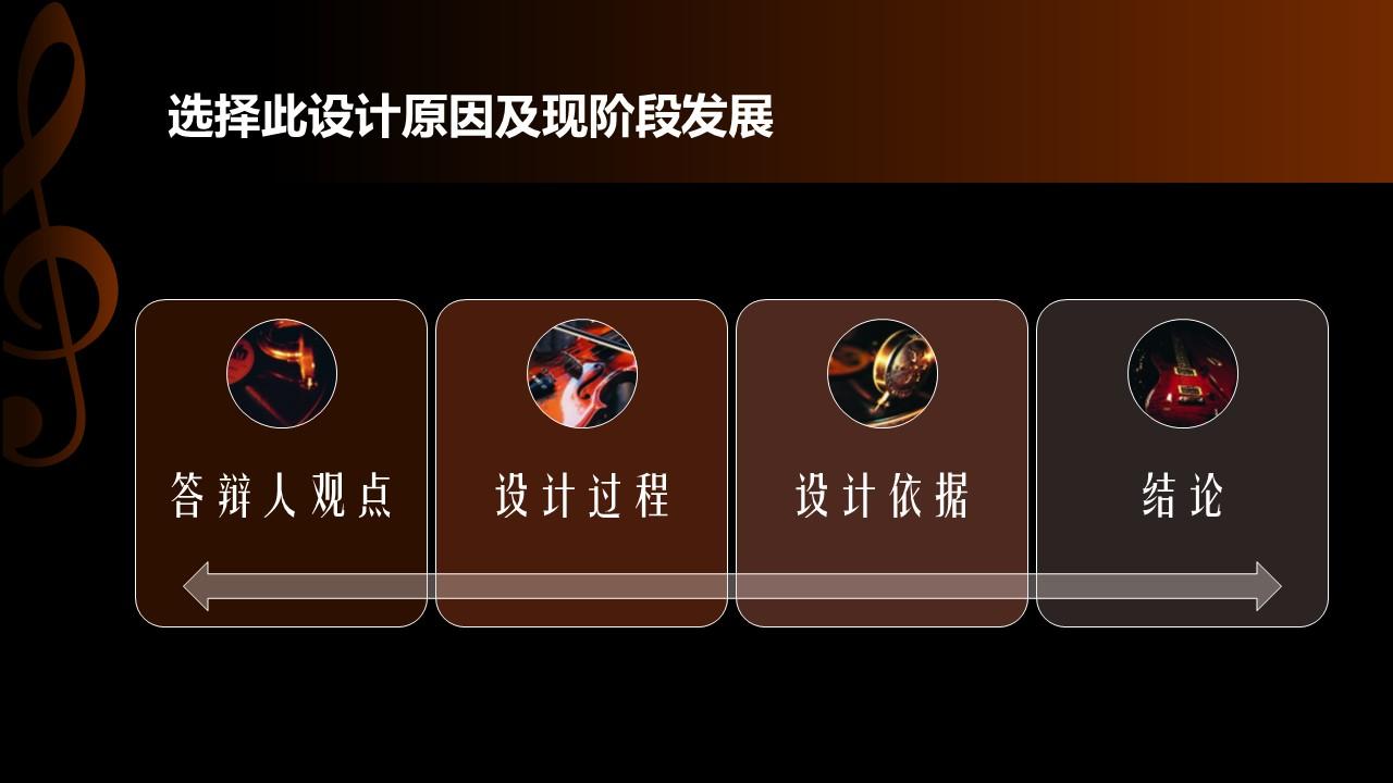 音乐主题艺术系毕业设计PPT模板下载_预览图6