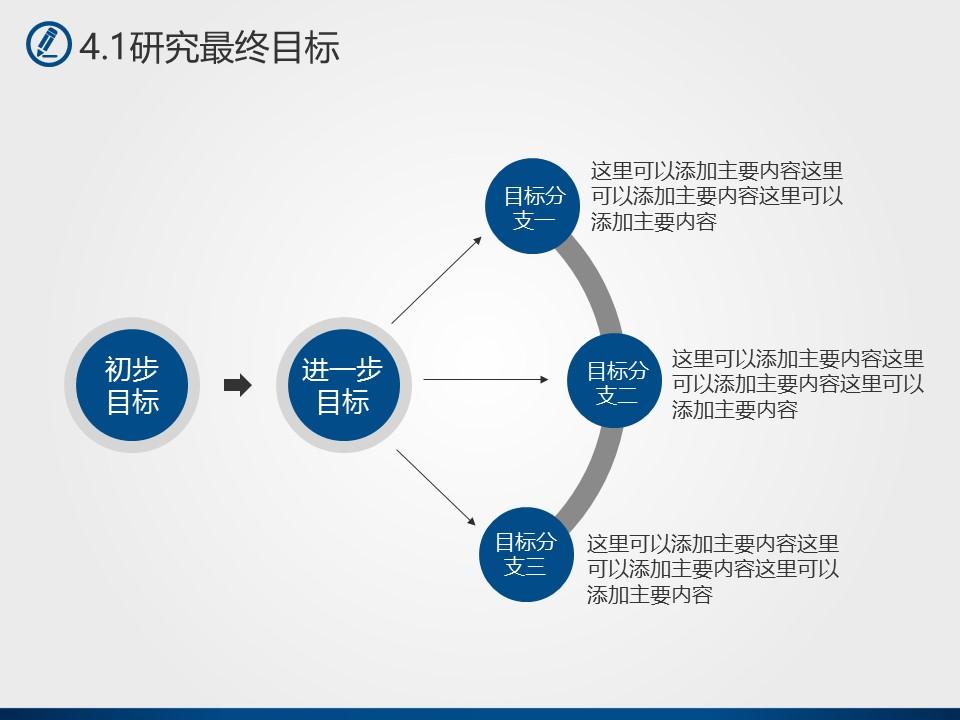 蓝色简洁风格高校论文答辩PPT模板下载_预览图20