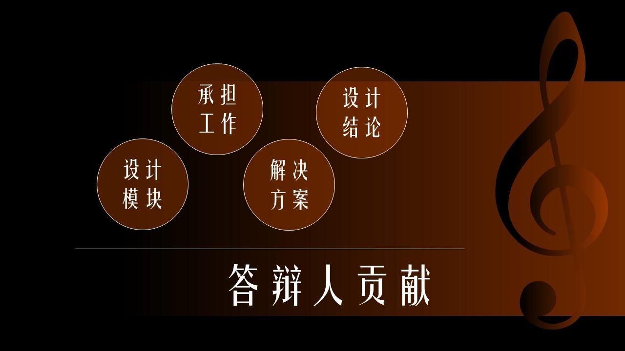 音乐主题艺术系毕业设计PPT模板下载_预览图5