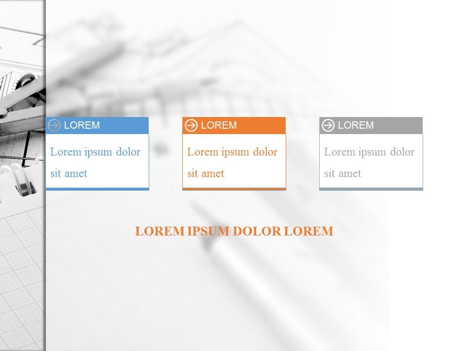 大学生学术报告PowerPoint模板下载_预览图3