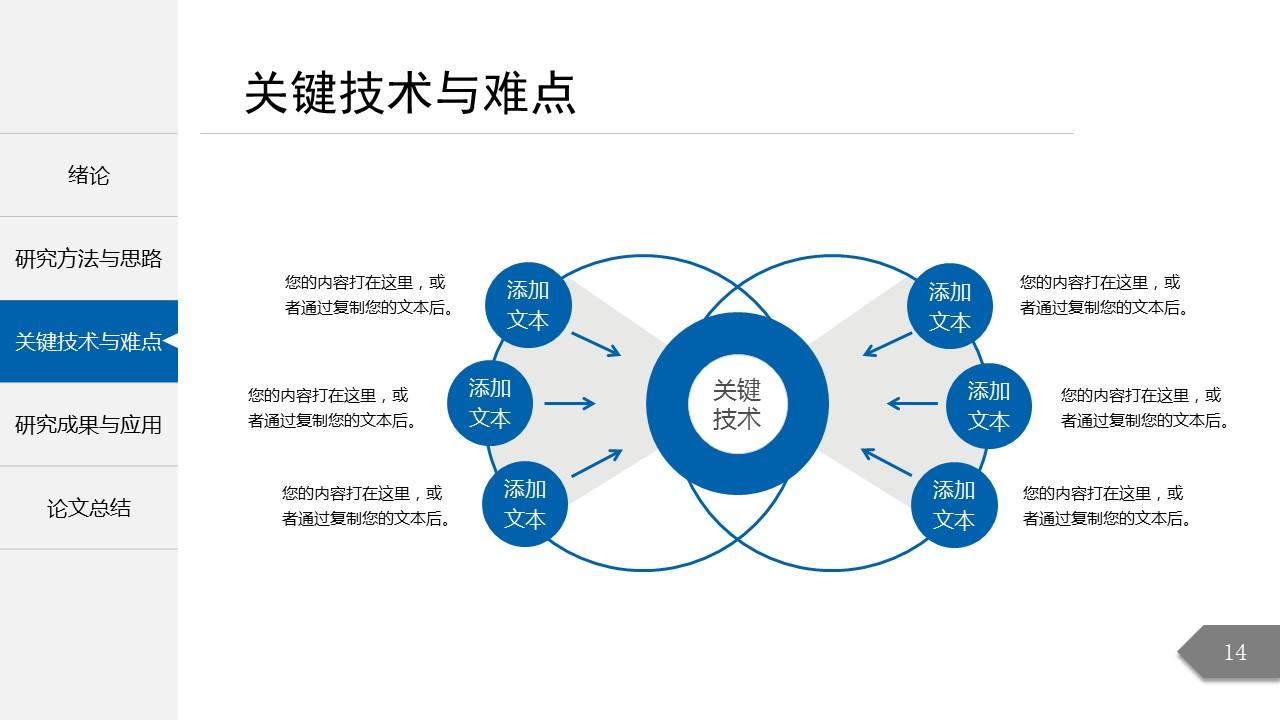 简约精致毕业论文答辩PowerPoint模板_预览图8