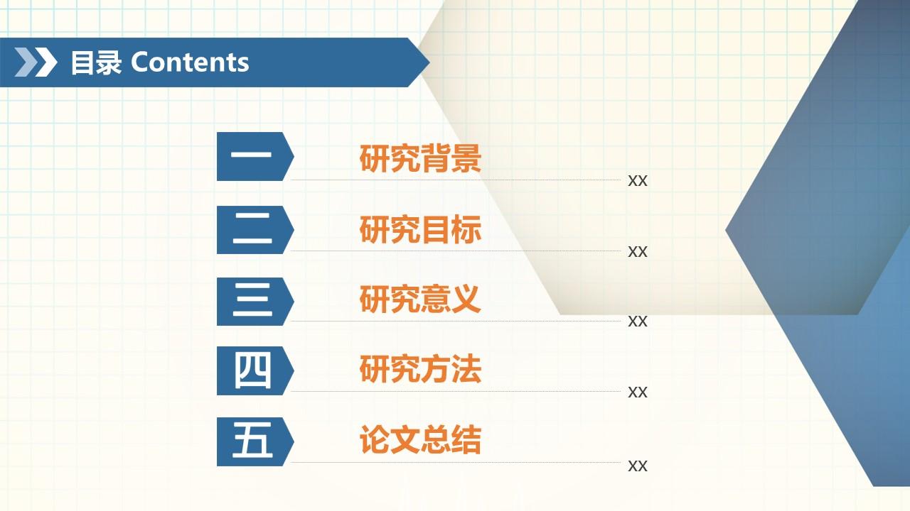 化学专业论文答辩PPT模板_预览图2