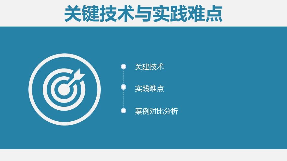 蓝色简洁实用论文答辩PPT模板下载_预览图15
