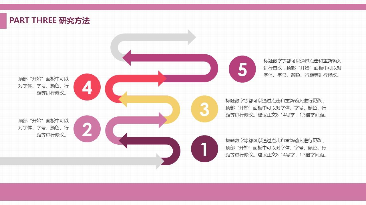 浅紫色清新风格大学论文开题报告PPT模板下载_预览图5