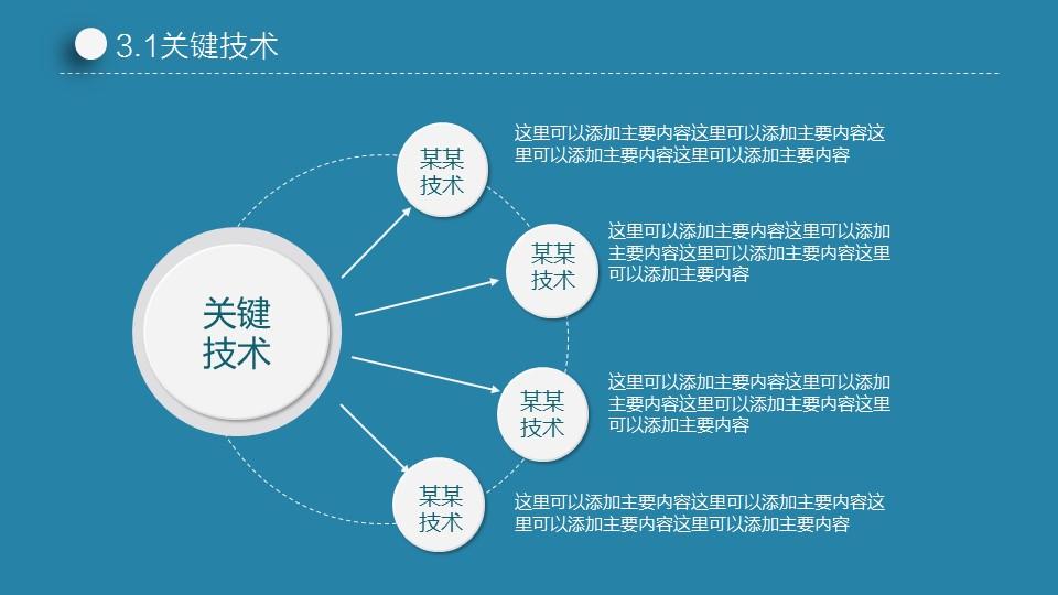 蓝色简洁实用论文答辩PPT模板下载_预览图16
