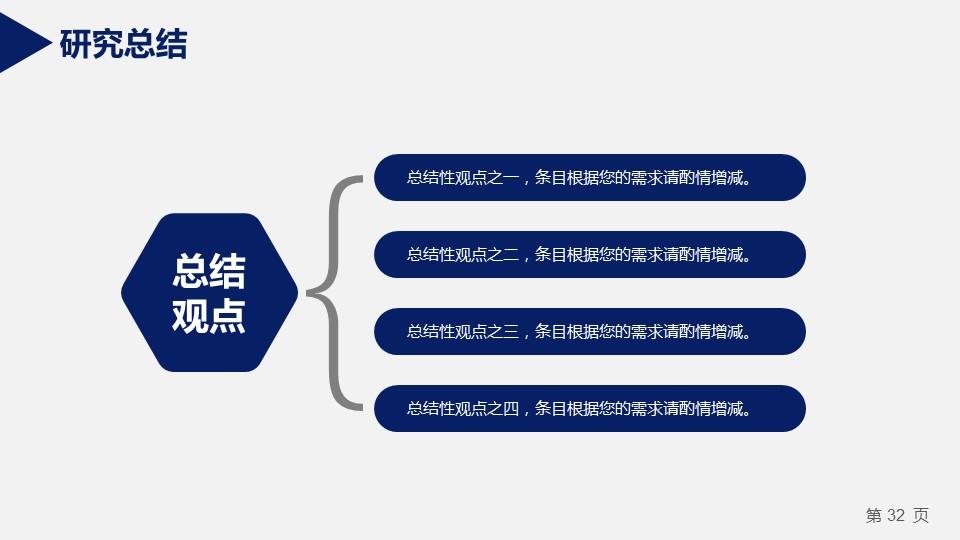蓝色严谨研究生毕业论文答辩PPT模板_预览图11