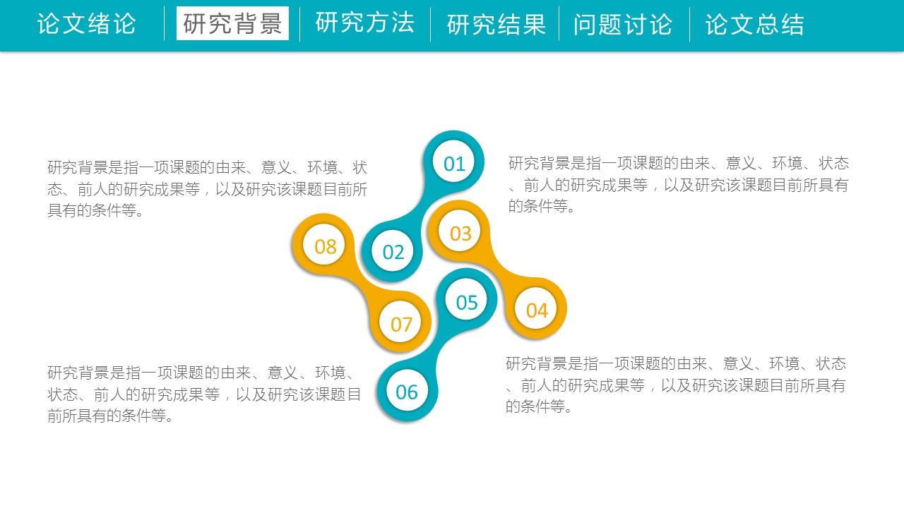 高等学府简洁毕业论文开题报告PPT模板下载_预览图7