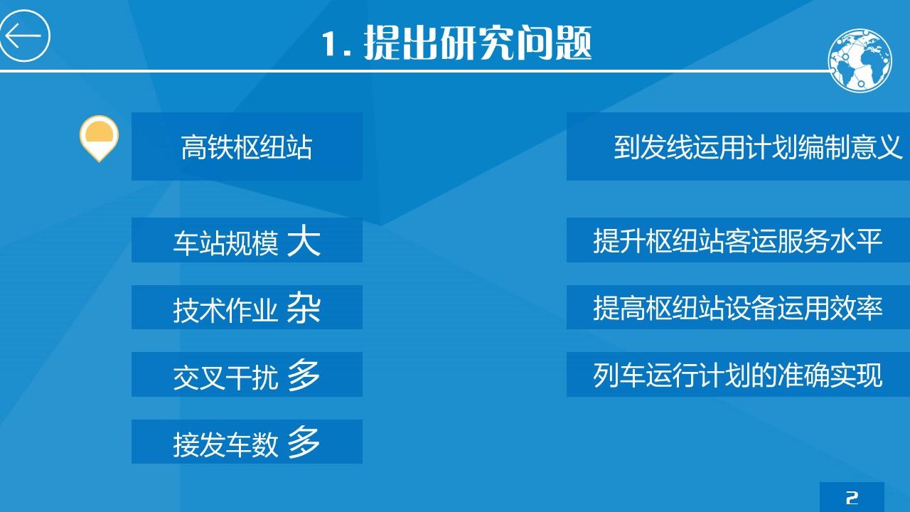 蓝色简洁研究报告PPT模板下载_预览图7