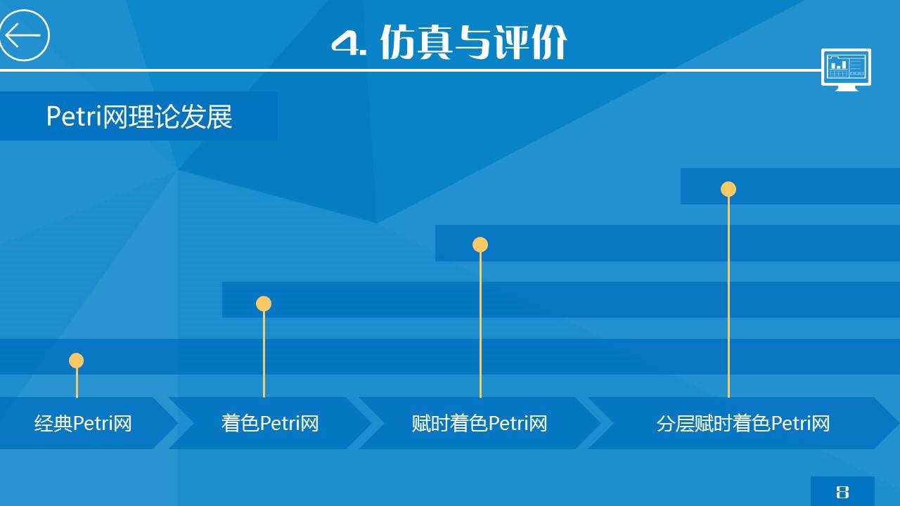 蓝色简洁研究报告PPT模板下载_预览图16