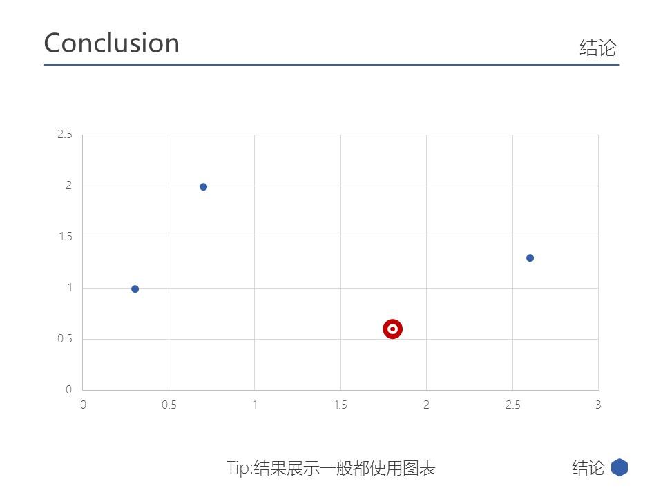 蓝色简洁多边形商务汇报PPT模板下载_预览图24