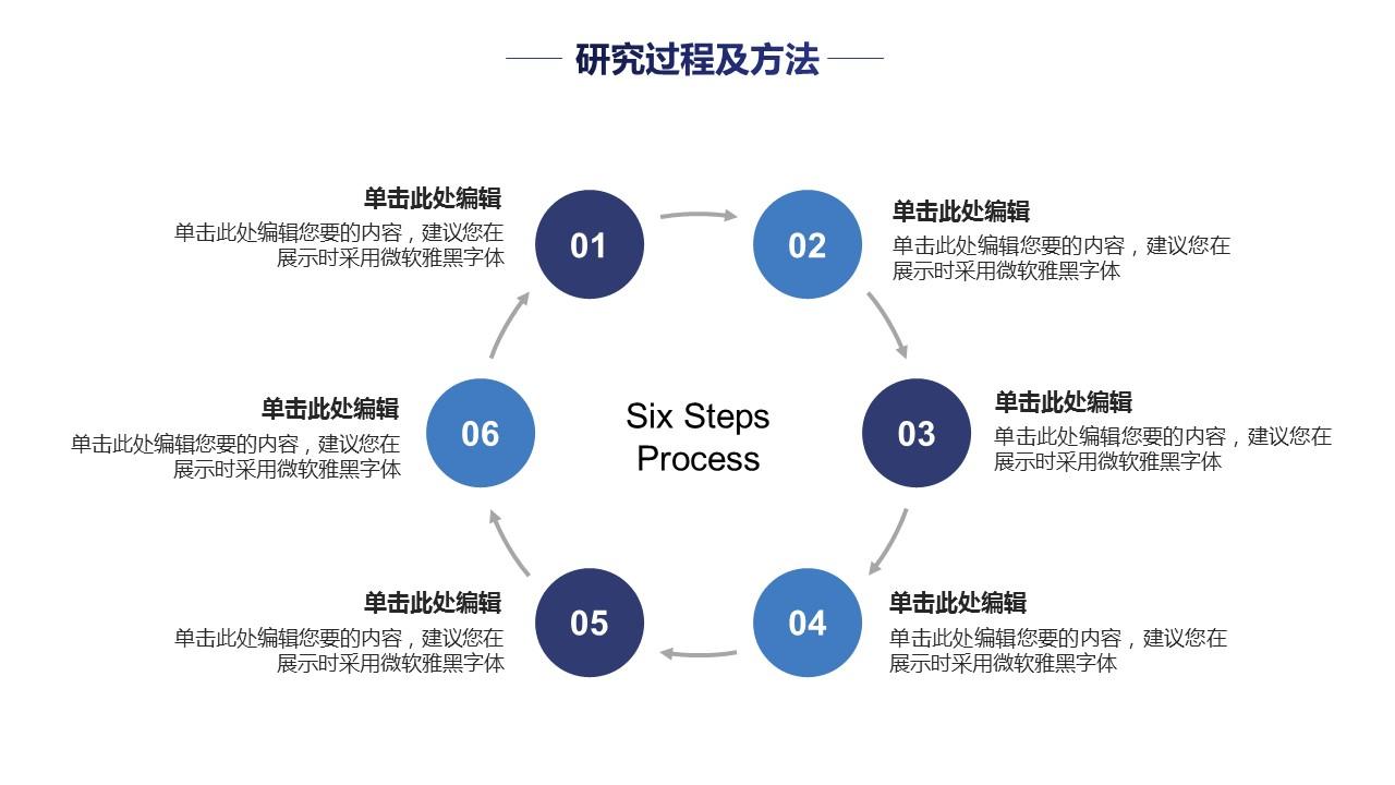 蓝色线条论文答辩简约PPT模板下载_预览图20