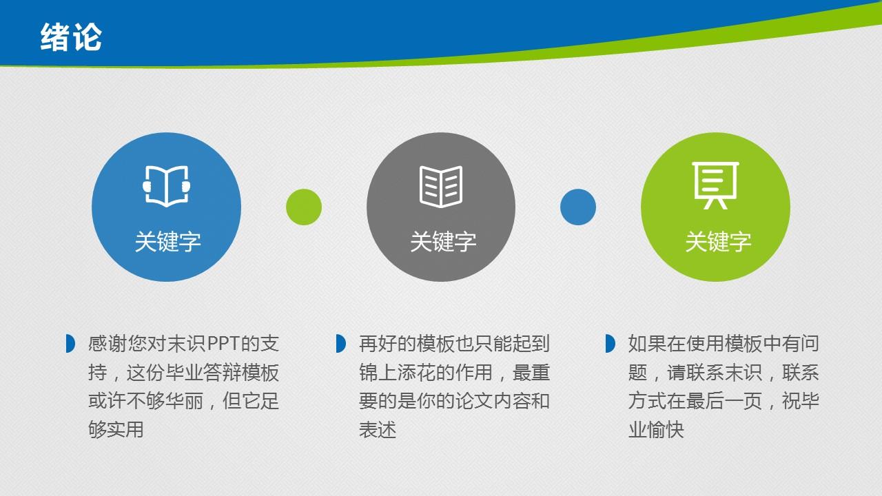 大学毕业论文答辩动态演示模板_预览图7