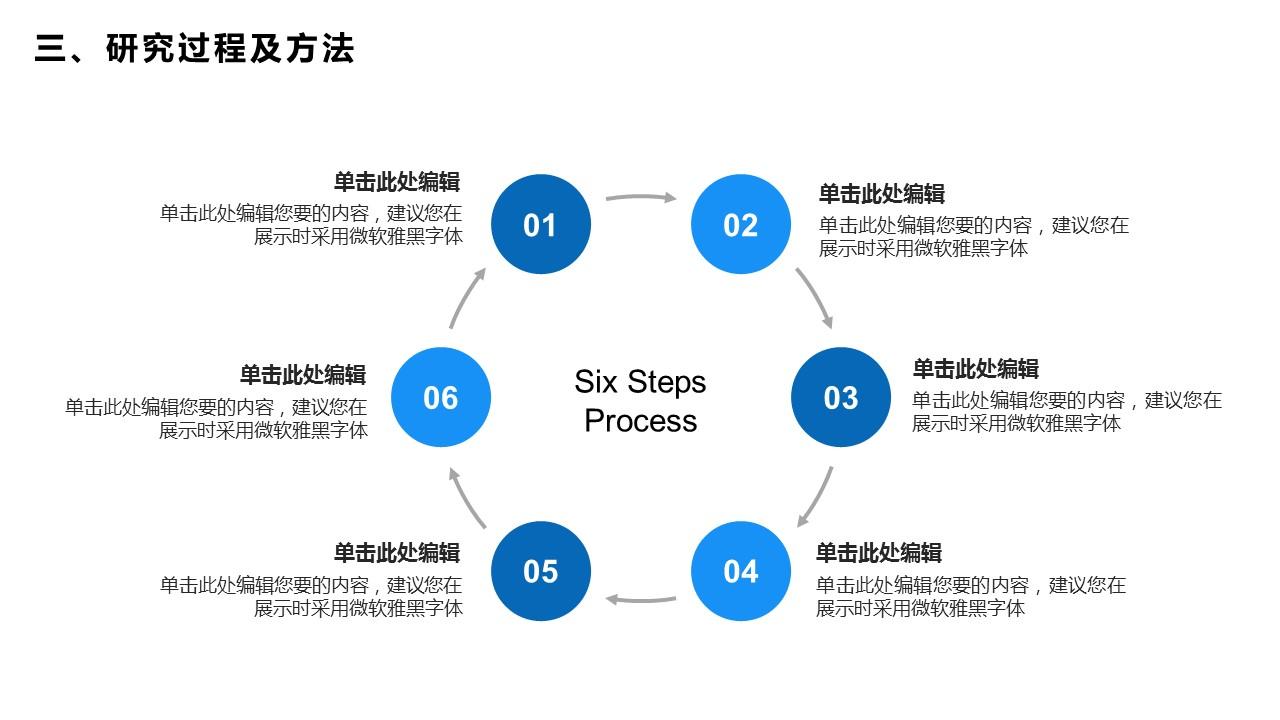 蓝色简洁通用版大学论文PPT答辩模板下载_预览图20