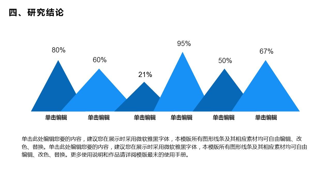 蓝色简洁通用版大学论文PPT答辩模板下载_预览图22