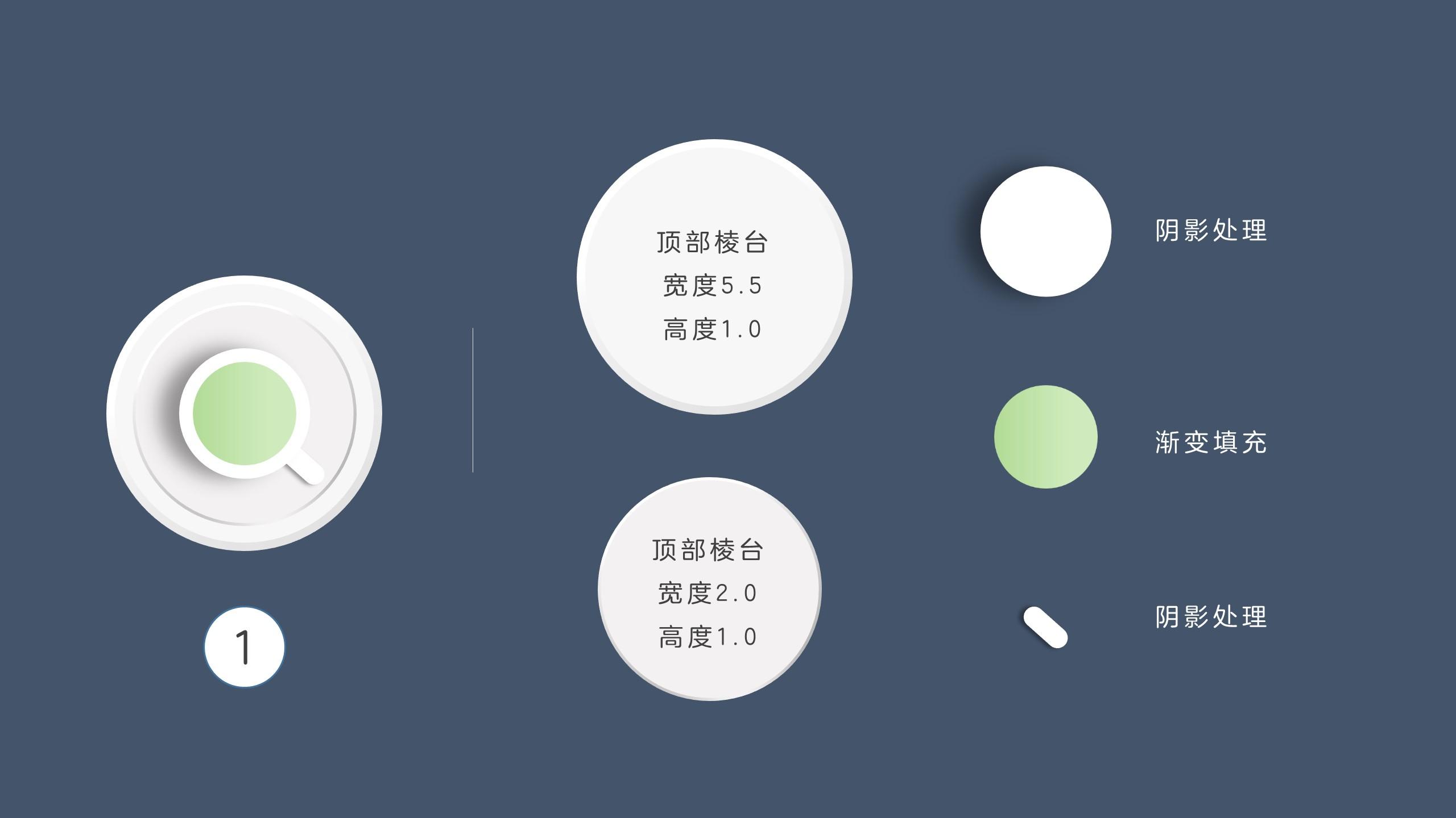 幻灯片中的立体感 君陵的PPT小院杂谈6