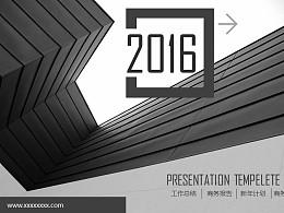 年度工作總結商務PPT模板下載