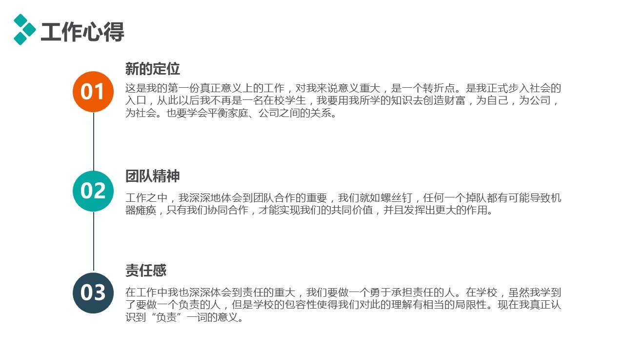 個人述職報告彩色PPT模板下載_預覽圖18