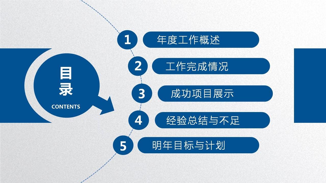 年度工作总结蓝色清新PPT模板下载_预览图23