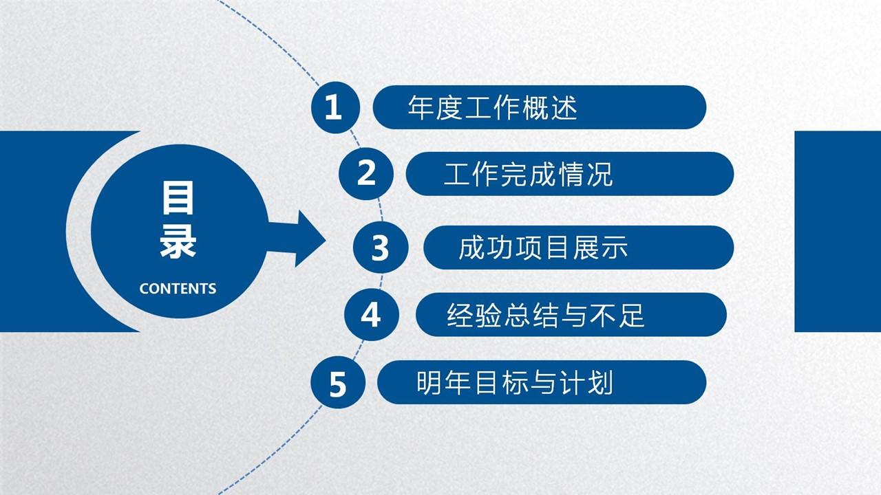 年度工作总结蓝色清新PPT模板下载_预览图16