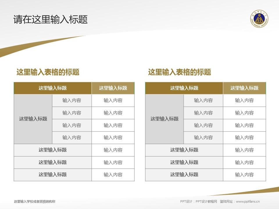安徽师范大学PPT模板下载_幻灯片预览图6