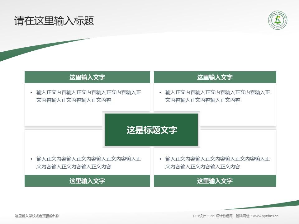 安徽人口职业学院PPT模板下载_幻灯片预览图17