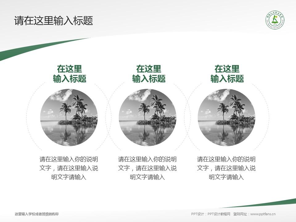 安徽人口职业学院PPT模板下载_幻灯片预览图15