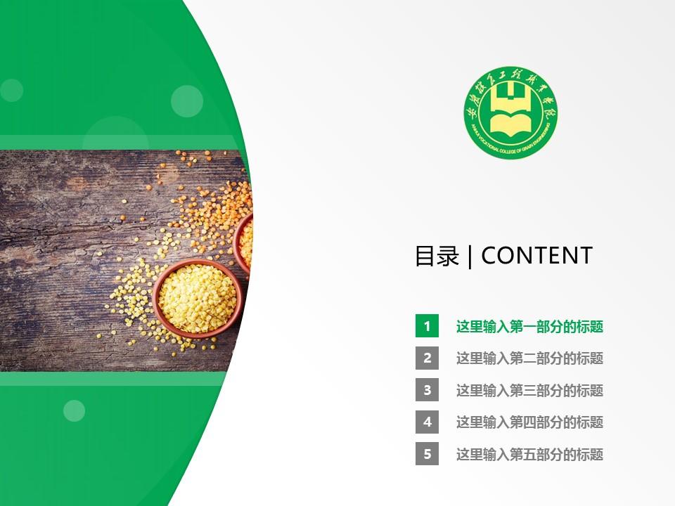 安徽粮食工程职业学院PPT模板下载_幻灯片预览图2