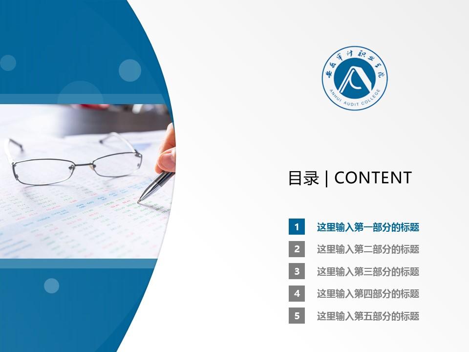 安徽审计职业学院PPT模板下载_幻灯片预览图2