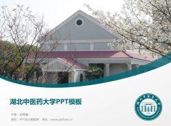 湖北中医药大学PPT模板下载