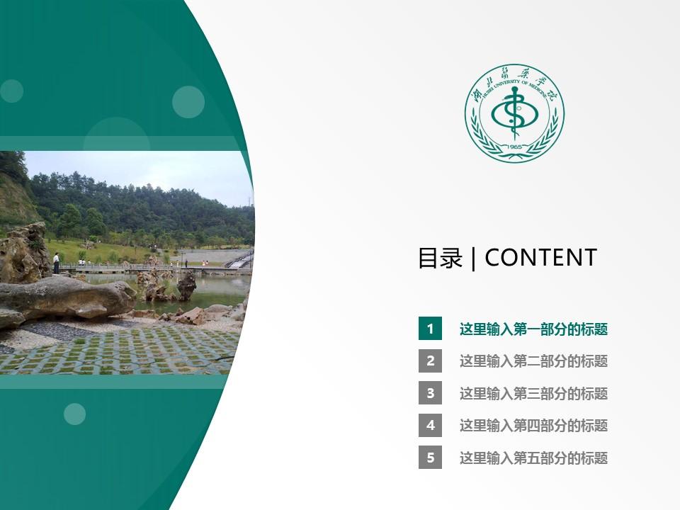 湖北医药学院PPT模板下载_幻灯片预览图2