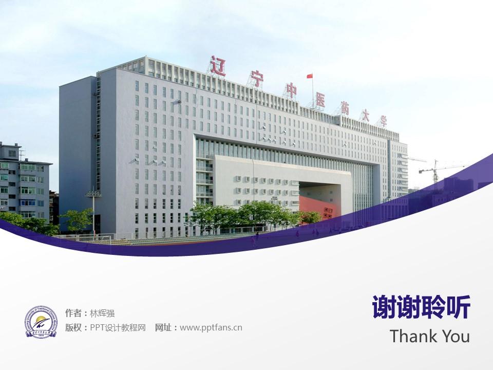 辽宁中医药大学PPT模板下载_幻灯片预览图19