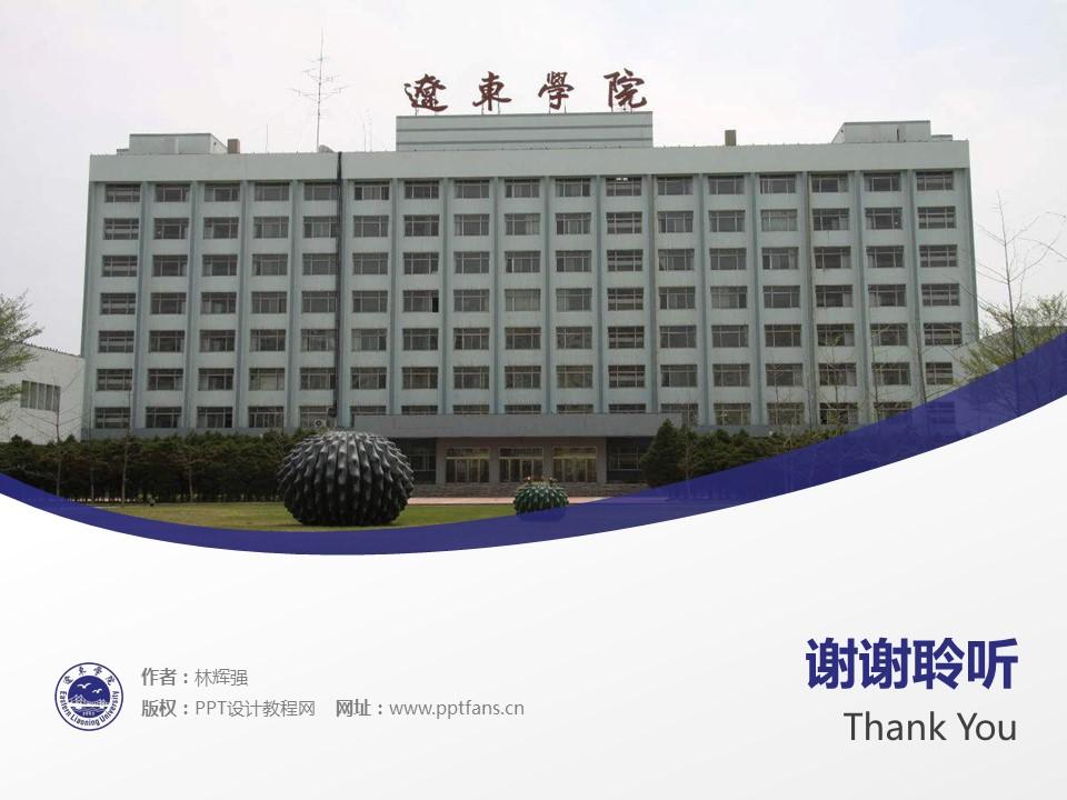 辽东学院PPT模板下载_幻灯片预览图19