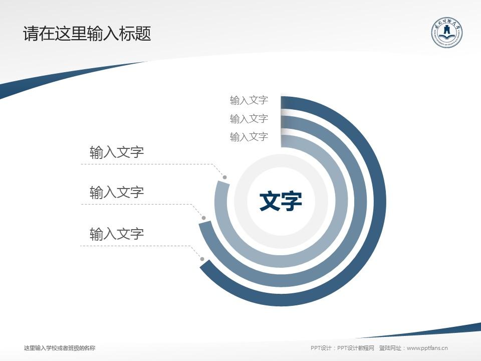 东北财经大学PPT模板下载_幻灯片预览图5