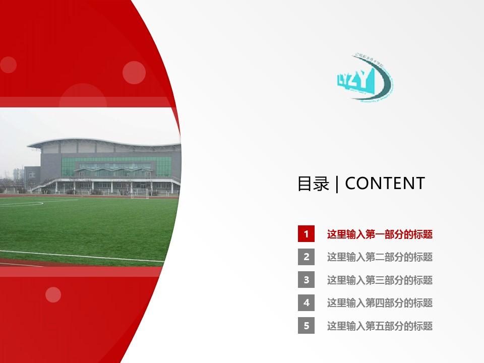 辽阳职业技术学院PPT模板下载_幻灯片预览图2