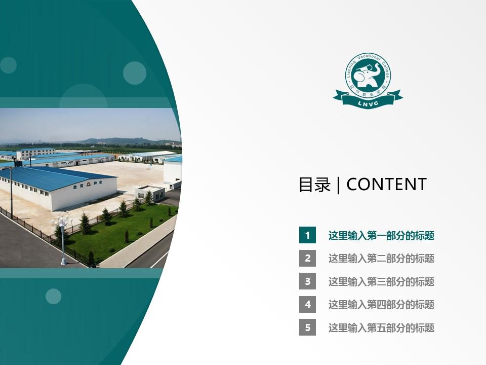 辽宁职业学院PPT模板下载_幻灯片预览图2