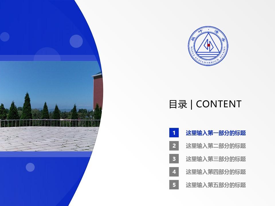 大连枫叶职业技术学院PPT模板下载_幻灯片预览图2