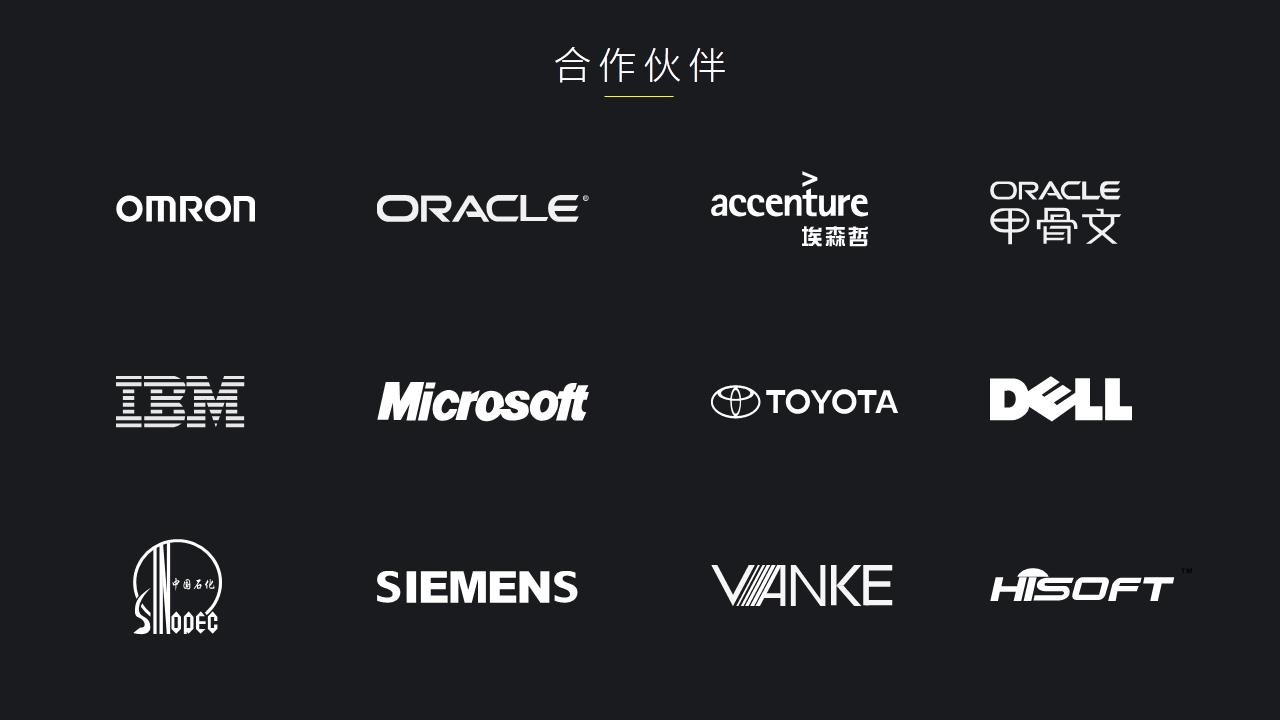 PPT有多个logo,如何排版才好看